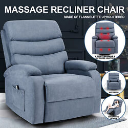 Electric Massage Chair Recliner Sofa Zero Gravity Full Body Relax Heated Lounge