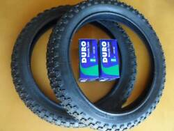 Kids Bicycle Tires and Tubes 16x2.125 Fits 16x1.75 16x1.95 Black BMX 16quot; $48.99