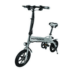 Voyager Flybrid Compact Foldable Rechargeable Electric Bicycle  $449.99