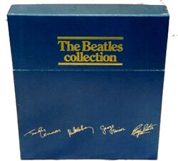 The Beatles Collection (British Blue Box) Vinyl Albums Brand New Never Played