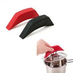 Kitchen Silicone Assist Handle Holder Silicone Insulation Pot Handle Pot Earmuff