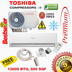 12000 BTU Air Conditioner Mini Split 16.9 SEER AC Ductless ONLY COLD 220V $389.99