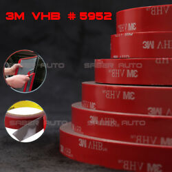 3M VHB #5952 Double-sided Acrylic Foam Adhesive Tape Automotive 15 Meters50FT