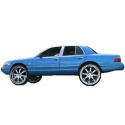 79-02 Ford Crown Vic Lift Kit Coil Spring Lifters Grand Marquis fit 22 24 26 rim $55.16