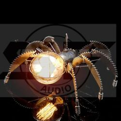 Table Lamp quot;Spiderquot; Sconce Wall Light Pendant light Table lamp Steampunk Handmad $799.00