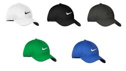 NEW NIKE HAT WITH SWOOSH DRI FIT BASEBALL CAP ADJUSTABLE HATS FAST FREE SHIPPING $19.77