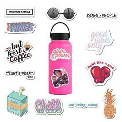 14 Pack Vinyl Stickers for Laptop Water Bottle Hydro Flask - By RipDesigns
