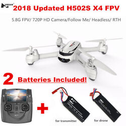 Hubsan X4 H502S RC FPV Drone with 720P HD Camera Live Video GPS Auto Return Home $99.00