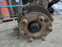 NS FRONT WHEEL HUB CW KING PIN AND BRAKE CALIPER - REMOVED FROM IVECO 75-E