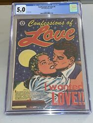 CONFESSIONS OF LOVE #5 CGC 5.0 1289127003 STAR PUBLICATIONS GOLDEN AGE