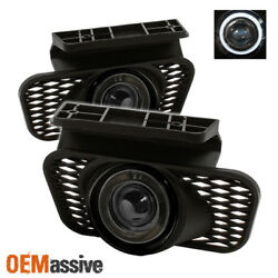 Fits Smoked 03-06 Silverado Avalanche Halo Projector Fog Lights Lamps Left+Right $57.99
