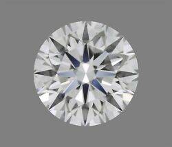 6.38 ct D Color VVS2 Clarity Round Natural Loose Diamond EX Cut GIA FL Faint