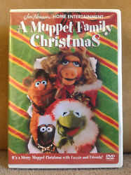 A Muppet Family Christmas (RARE DVD 2001) NEW & FACTORY SEALED