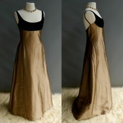 Velasco Andersson Dress Thick Glowing Silk Long Formal Gown NWT Barney's NY 10