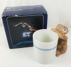 Avon ET Extra Terrestrial Porcelain Figurine & Everything CaddyMug  NIB 1983