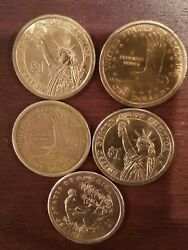 US one dollar gold coins $300.00