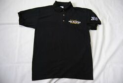 PAUL MCCARTNEY EMBROIDERED UP amp; COMING TOUR BREAST LOGO POLO SHIRT NEW OFFICIAL GBP 12.99