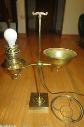DUPLEX ANTIQUE STUDENT LAMP – FOR RESTORE $44.99