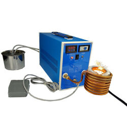 ZVS Induction Heating High frequency Quenching Machine Digital Display Crucible $376.84