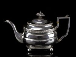 1810 Georgian Sterling Silver Teapot with Exeter Hallmark