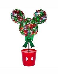 Disney Magic Holiday Mickey Mouse Multi-Color Christmas LED Topiary 3.2 ft - NIB