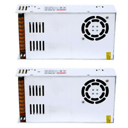 2x AC 110V 220V to DC 12V 30A 360W Regulated Switching Power Supply Transformer $49.70