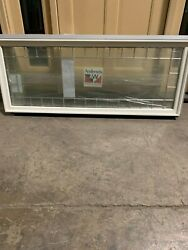Andersen White Frenchwood Patio Door Transom Window Queen Anne Style New