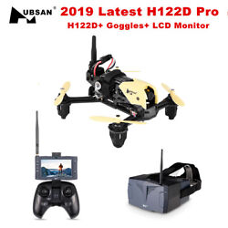 Hubsan H122D X4 STORM 5.8G FPV Micro Racing Drone Quadcopter 720PGoggles LCD $113.05