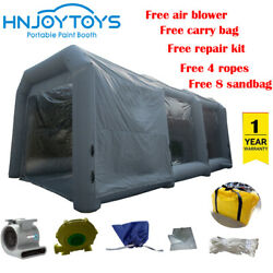 Car painting use workstation inflatable paint booth used portable spray booth