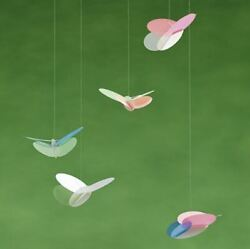 Flensted Butterfly Nature Beauty Modern Hanging Mobile New Museum Gift Animal $44.50