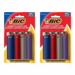 BIC Classic Lighter Assorted Colors 8 Pack colors and packaging may vary $10.49
