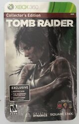 Tomb Raider -- Collector's Edition (Microsoft Xbox 360 2013) New Sealed