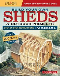 Building Sheds Storage Utility Detailed Plans DIY Blueprints Design Guide Book