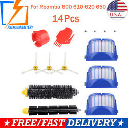 Replacement Parts for iRobot Roomba 600 610 620 650 614 618 Vacuum Filter Brush $11.49
