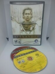 Alexander by Ubisoft - Complete in Box (PC CD 2004) w Free Shipping