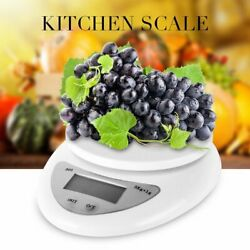 Home Kitchen Electronic Food Weighing Scale Digital Measuring Gram Accurate TO