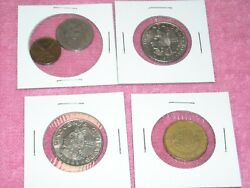 Lot of Mexican coins 1970 1980 1969 1993 cincuenta 20 cent Foreign World Coin