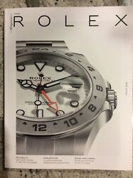 Rolex Magazine Issue #8  #08 Explorer Edition Brand New 140 Color Pages 2018