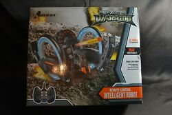 Riviera RC Space Warrior 2 Remote Controlled Robot New Open Box $50.00