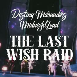 $10 Destiny 2 Last Wish FULL Raid Completion (PS4) 100% Guaranteed