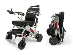 AEROSPACE ALUMINUM CRAFTED DELUXE LIGHTWEIGHT FOLDABLE ELECTRIC POWER WHEELCHAIR