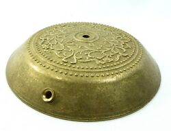 Lamp Part Floor Base Solid Raw Cast Custom Unfinished Raw Brass Rare $65.00