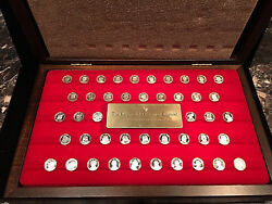 THE KINGS AND QUEENS OF ENGLAND SILVER MINI COIN COLLECTION WBOX AND COA $175.00