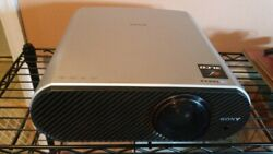 Sony Cineza VPLHS60 HD Home Theatre Projector AND 106 Optoma HD Pulldown Screen $199.99