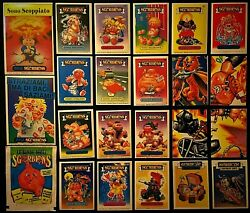 PiCk fROM 1985 Series 1 GaRbaGe PaiL KidS itaLY SGORbiONS NaStY NiCk