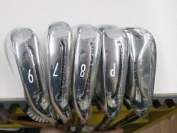 TAYLOR MADE GLOIRE 2015 JP MODEL 5PC GLOIRE L-FLEX IRONS SET GOLF 10187