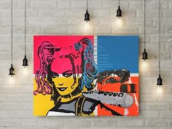 Harley Quinn By Jesse James Street Graffiti Contemporary Pop Batman Joker Art