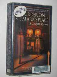 Murder on St. Mark's Place: Gaslight Mystery #2 by VICTORIA THOMPSON - 2000