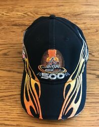 2010 Amp Energy Juice 500 Talladega Limited Edition Flame NASCAR Hat Cap