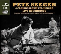 Pete Seeger: Four Classic Albums Plus Rare Live Recordings NEW 4-CD 1957-1960